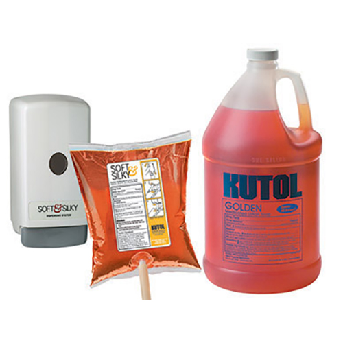 Kutol soap products and dispenser